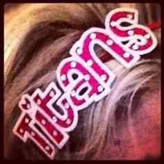 Personalized Cheer Team Blingy Headband