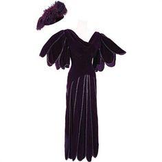 Nolan Miller Gown/Hat Elizabeth Taylor TV Movie