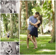 Krafts Azalea Garden Engagement #orlandoweddingphotographer #engagementsession