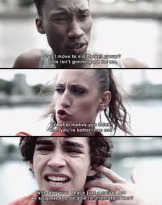 Yet another classic Nathan moment. Misfits.