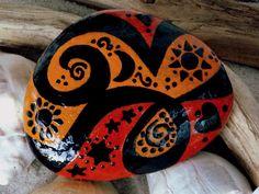 The Magic of Sedona / Painted Rock / Sandi Pike Foundas / Cape Cod on Etsy, $45.00