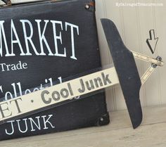 Flea Market Cool Junk Sign