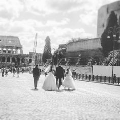 Scene da un doppio matrimonio parte III Scenes from a double marriage (in Rome) III  #retroscena #background #wedding #love #loveinrome #foriimperiali