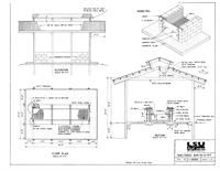 Design plans for a X shelter to house a permanent B-B-Que pit. Bbq Pit Smoker, Diy Smoker, Bbq Grill, Barbecue, Grilling, Wood Fire Pit, Fire Pits, Outdoor Oven, Outdoor Cooking