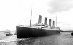 Titanic, White Star Line. Sank 100 years ago on April 15th, 1912.