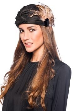 Turbante Antique Black