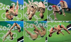Brits Tom Daley and Daniel Goodfellow did the nation proud last night when they brought home gold in the men's 10m synchronised dive event. However, the Brits were not the only pair to impress.