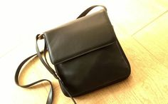 Expending Black Leather crossbody bags Leather by TheSacredWays