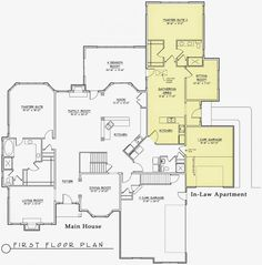 9 Best Modular Home Floor Plans With Inlaw Suite images ... Ranch House Floor Plans With In Law Apartment on house plans with separate apartment, ranch style house addition plans, portable mother in law apartment,