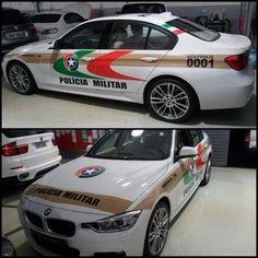 Viatura doada pela BMW Brasil para a Polícia Militar de Santa Catarina