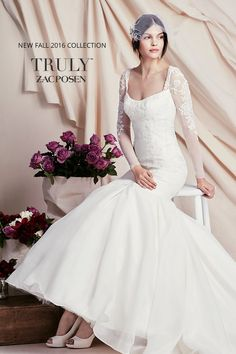 Brand new Truly Zac Posen designer wedding dresses have arrived at David's Bridal. Come find the one for you!