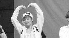 EXO Xiumin bw. CAN YOU PLEASE JUST STOP BEING SO CUTE? Cuteness overload. #minseok