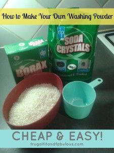 How To Make Your Own Washing Powder #UKBloggers