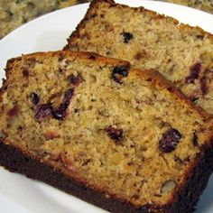Try our Greek Yogurt Banana Cranberry Bread , using Oikos Greek yogurt as a substitute ingredient for your recipes.