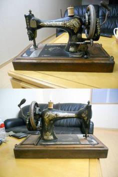 Sewing Machine 珍品シンガーアンティーク1886ジャンクミシン取説 インテリア 雑貨 家具 Antique ¥1000yen 〆07月21日