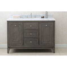 """You'll love the 48"""" Single Bathroom Vanity Set at Wayfair - Great Deals on all Home Improvement  products with Free Shipping on most stuff, even the big stuff."""