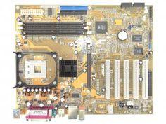 Placa Mãe Asus Socket P4S800 - Intel 4/Celeron 6 Portas USB
