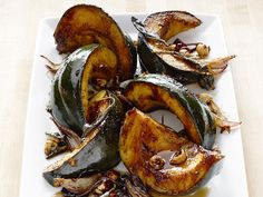 September 7th is National Acorn Squash Day! Celebrate by using Patricia & Paul Maple flavored balsamic vinegar on this divine Balsamic Glazed Acorn Squash!
