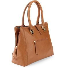 Women's Side Zipper Tote Handbag