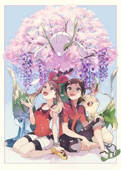#Leafeon #Glaceon