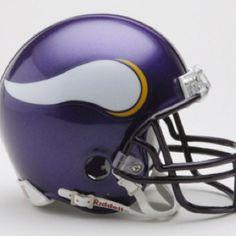 Minnesota Vikings football helmet