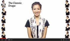 25 различни начина как да вържеш шала си.