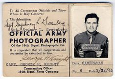 Syd Greenberg was an US Army Signal Corps photographer assigned to the China-Burma-India theater of operations, documenting how American and Chinese Nationalist troops fought the Japanese.