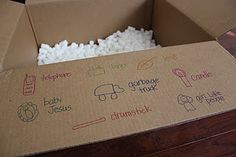 I Spy in a box.  My kiddos would go biserko with this activity!