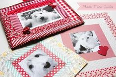 Free Quilt Tutorial - Mini Photo Quilts