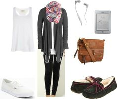 Air travel outfit