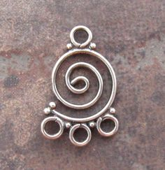 LOW SHIPPING Bali Sterlijng Silver Circles by LindenAvenueDesigns, $4.75