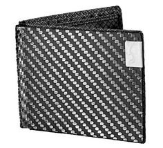 Common Fibers Mens MAX Carbon Fiber Wallet with RFID Prot...