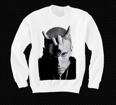 Eminem Sweatshirt Sweater Shirt T-shirt Pop Culture Devil Horns on Etsy, $24.00