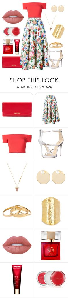 """:)"" by liora134 ❤ liked on Polyvore featuring Miu Miu, Emilia Wickstead, Alice + Olivia, Giuseppe Zanotti, Wolf Circus, Auden, Dsquared2, Kenneth Jay Lane, Lime Crime and Kate Spade"