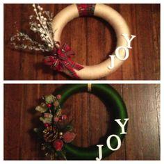 Christmas Wreath, DIY Project, Christmas Decorations