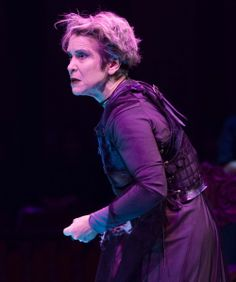 Naomi Jacobson as Queen Margaret in Richard III. Directed by Robert Richmond. Folger Theatre, 2014. Photo taken by Teresa Wood.