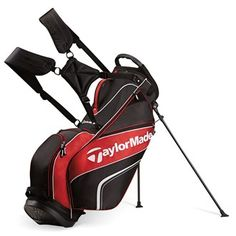 TaylorMade Golf TaylorMade Pro 4.0 Stand Bag Features: 5-Way Top with handle (9.75 x 8.5) Crush resistant construction 2 Full length dividers Contoured ergonomic shoulder strap Anti-split stand system EVA molded hip pad Carry handle Umbrella sle http://www.MightGet.com/january-2017-11/taylormade-golf-taylormade-pro-4-0-stand-bag.asp