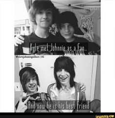 kyle david hall and johnnie guilbert - Google Search