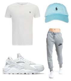 """""""Untitled #644"""" by tanasia2266 ❤ liked on Polyvore featuring NIKE and Polo Ralph Lauren"""