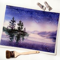 Watercolorist: @nadja.leutloff  #waterblog #акварель #aquarelle #painting #drawing #art #artist #artwork #painting #illustration #watercolor #aquarela