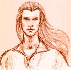 Elf Portraits: Pictures of the Elf-Lords - Legolas by Marta Aguado