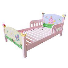 Fantasy Fields Girl's Magic Garden Toddler Bed
