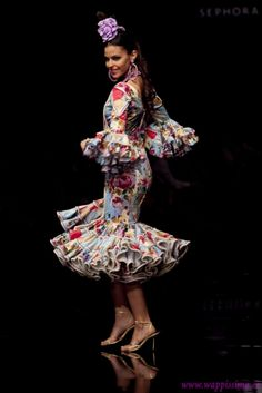 Las palabras mágicas: Flamenco fashion