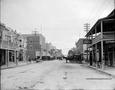 Today's Flagler Street (formerly Street) looking east at Miami Avenue (formerly Avenue D) in Miami, Florida. Vintage Florida, Old Florida, Miami Florida, South Florida, Florida Keys, South Miami, Florida Girl, Florida Living, Miami Beach