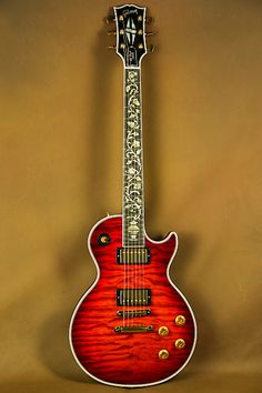 Gibson Les Paul Ultima Tree of Life Quilt Firemist Electric Guitar