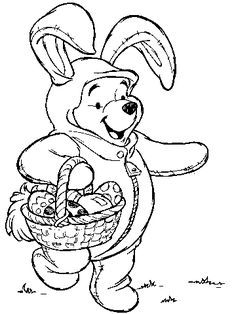 Easter Disney Coloring Pages And Sheets
