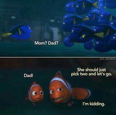 New Funny Quotes Disney Movies Finding Nemo Ideas Disney Memes, Disney Films, Disney Quotes, Disney And Dreamworks, Disney Pixar, Disney Cars, Disney Stuff, Nemo Movie, Comedy