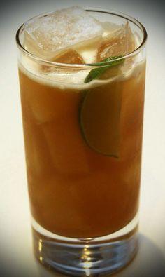 Staffordshire Delight 2 shots golden rum 1½ shots pineapple juice ½ shot Fernet-Branca ½ shot lime juice ½ shot orgeat (almond syrup) Dash of Angostura Bitters