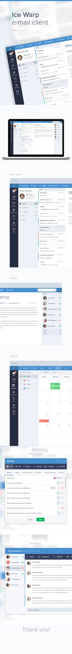 E-mail client - on @Behance: http://www.behance.net/gallery/E-mail-client/8626803