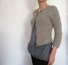 """Walnuss"" cardigan by fallmasche"